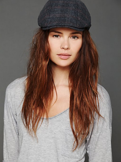 Out For A Drive Plaid Cap in sale-sale-under-70
