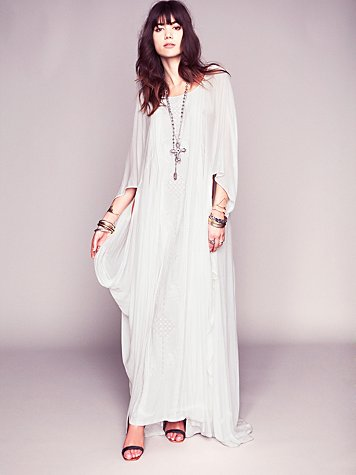 Free People Dana's Limited Edition White Story Dress