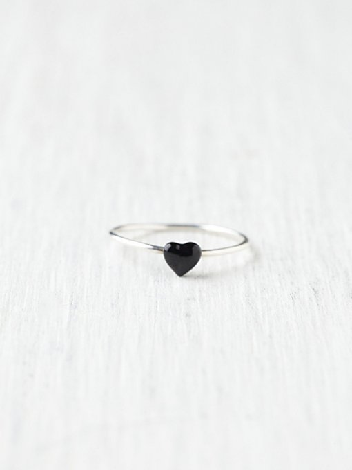 Nora Kogan  Heart Ring in jewelry