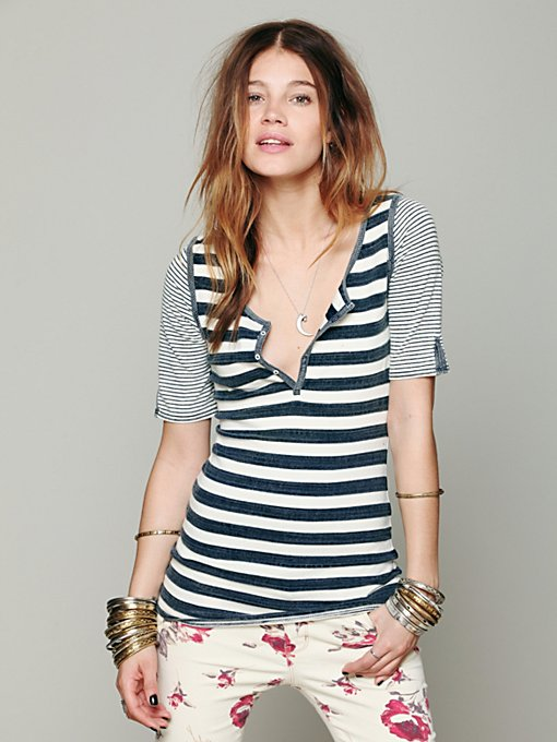 We The Free Scoot Stripe Tunic in mar-13-catalog-items