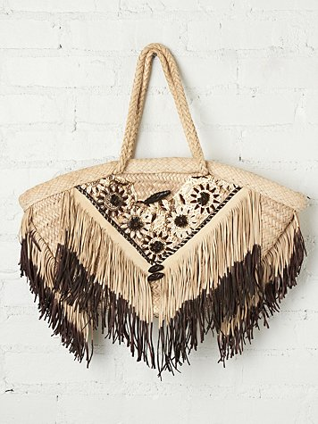 Enshalla Daisies Beach Bag