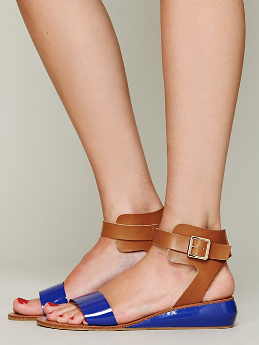 Kelsi Dagger Jem Mini Wedge in designer-sandals