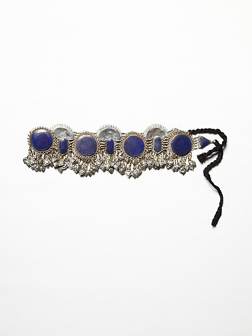Lapis Metal Belt