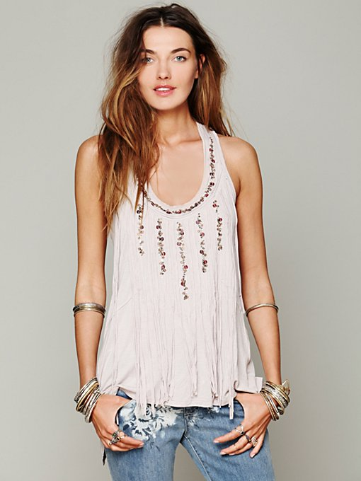 Free People La Vie Boheme Tank in beach-clothes