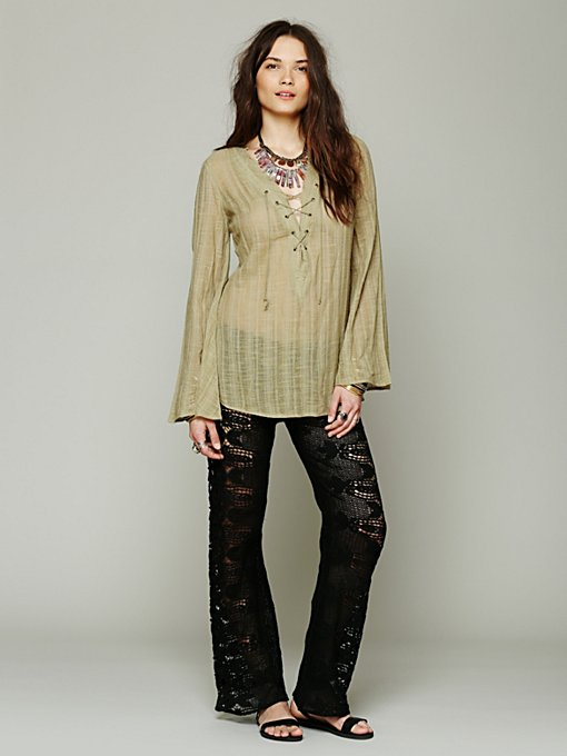 Santos Lace Flare in clothes-pants