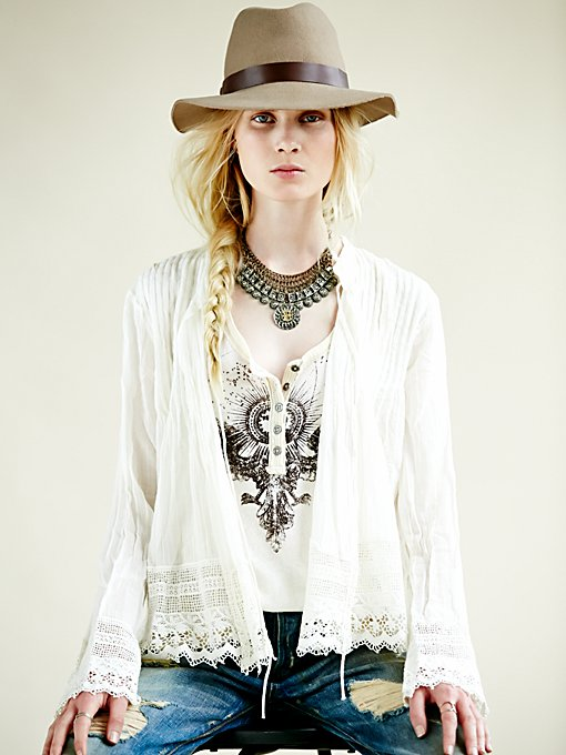 Free People FP ONE Softly Woven Jacket in Jackets