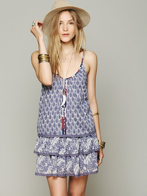 Lake Eden Print Dress in clothes-dresses-day