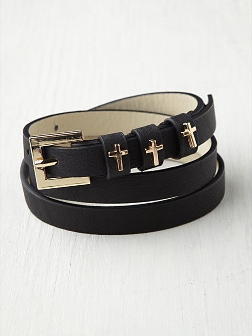Cross Stay Belt in Belts