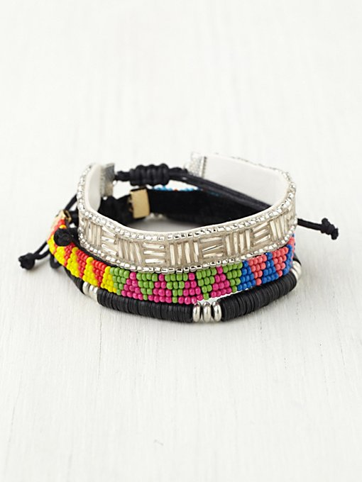 Skinny Bead Friends Bracelet Set in accessories-jewelry