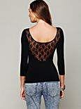 Solid Lace Back Cami