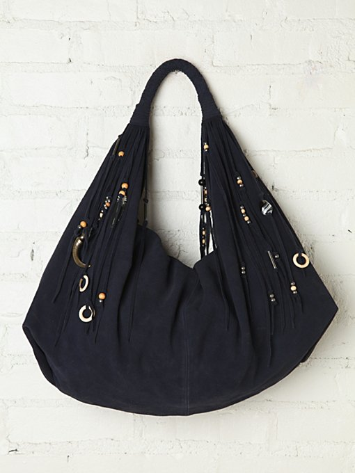 Simone Camille Moon Charm Hobo in Bags-Wallets