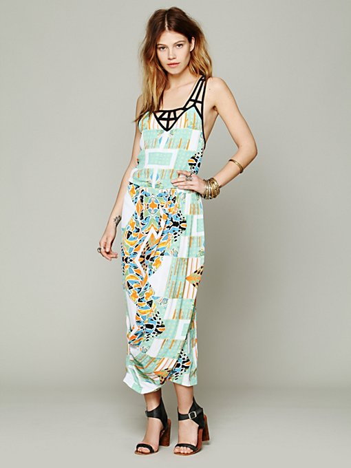 FP New Romantics Mayan Temple Dress in clothes-dresses-maxi