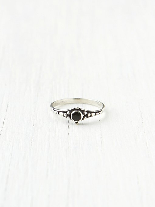 Stacking Stone Rings in rings