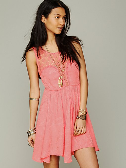 Free People Lolita Syndrome Dress in crochet-dresses