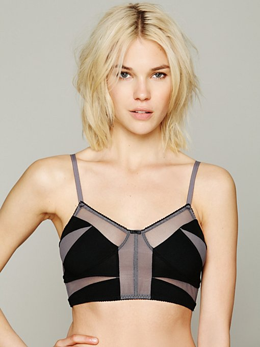 Mesh Crop in bras