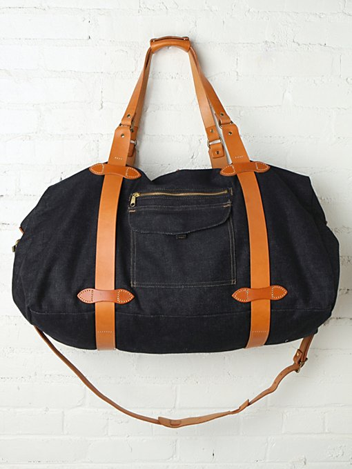 Filson  Denim Weekender in handbags