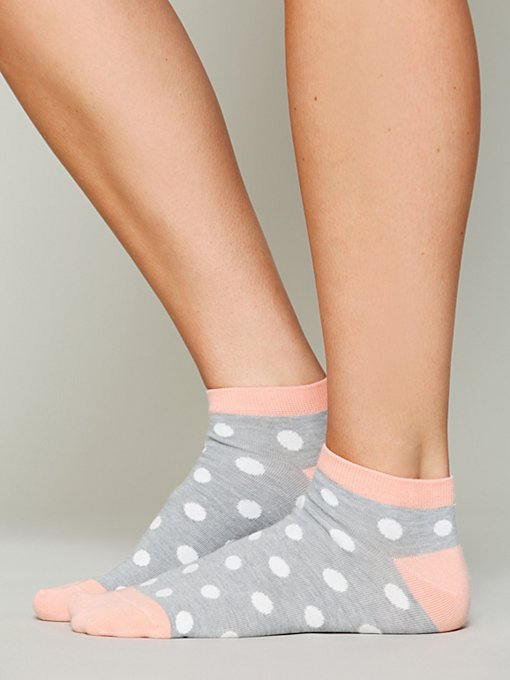 Polka Dot Anklet in womens-ankle-socks