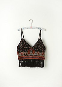 FP ONE Along the Fringe Bralette in intimates-bras-bralettes