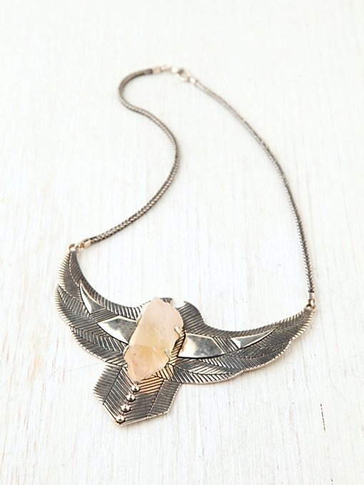 Spell and the Gypsy Collective Thunderstruck Crystal Chestplate  in boho-jewelry
