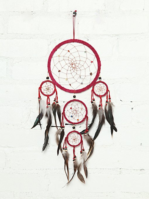 Vintage Handmade Dream Catcher in vintage-loves-objects