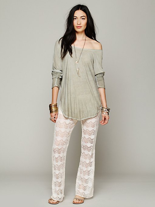 Romantic Lace Flare in clothes-pants