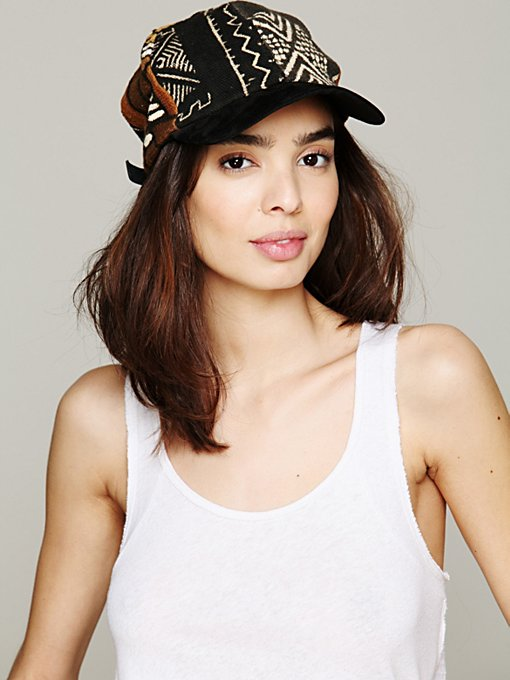 Mud Cloth Baseball Hat in accessories-hats