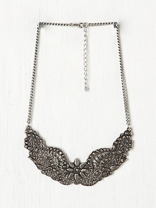 Ornate Etched Collar in jewelry
