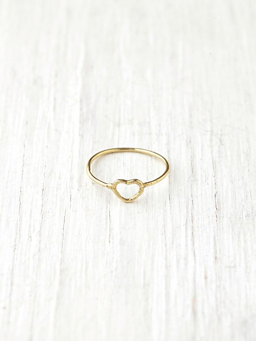 Verameat Got Heart Ring in boho-jewelry