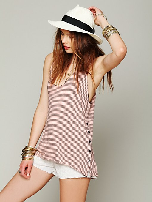 Saint Grace Jett Tank in knit-tops