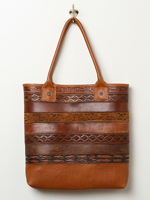 Totem Salvaged Vintage Belt Tote in handbags