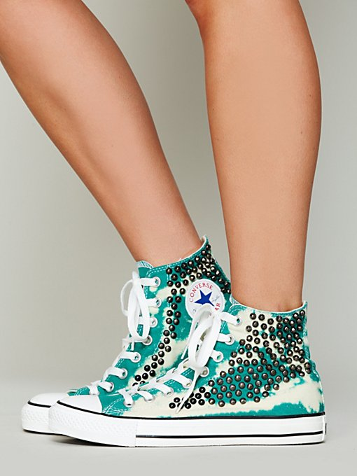 Bobbi Bleached Chucks in shoes-sneakers