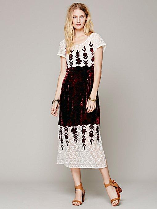 Velvet Garden Gown
