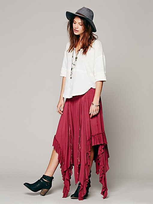 Free People Fly Away Convertible Skirt