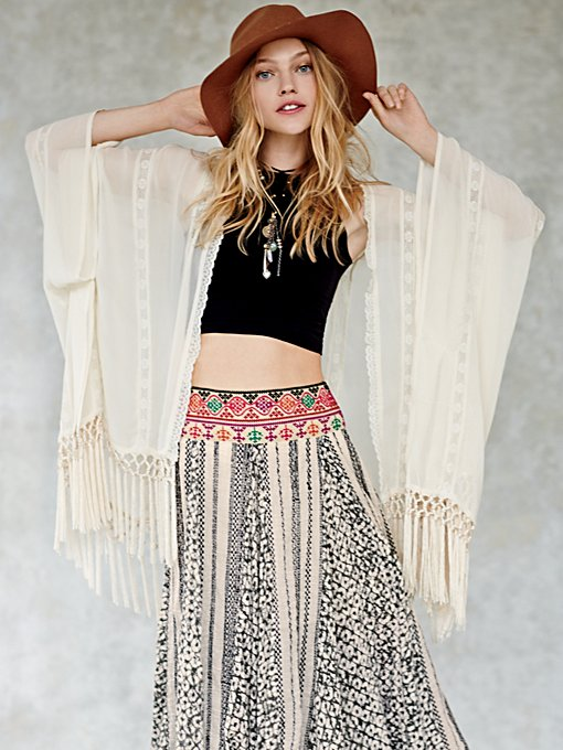 Free People FP ONE Ananda Print Maxi
