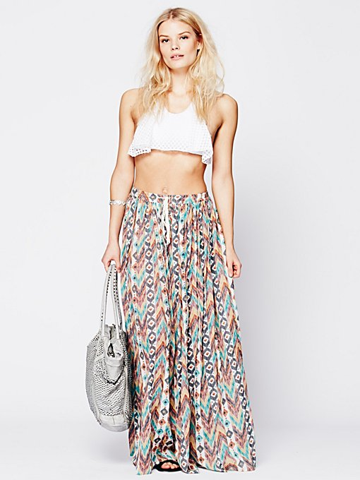 Love Sam Break of Dawn Printed Maxi