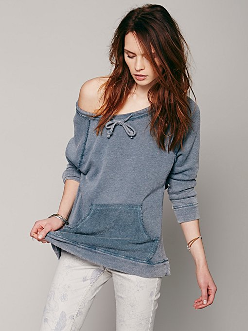 Surplice Back Pullover