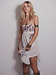 Embroidered Babydoll Slip