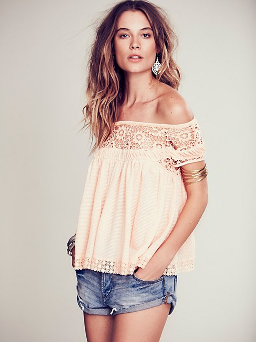 Heart Throb Babydoll Top