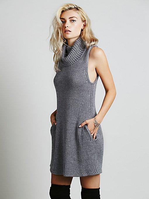 Vertical Sweater Dress