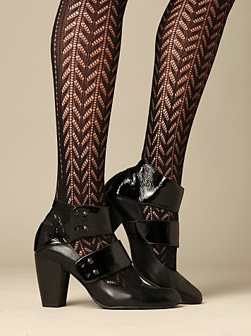Patent Mind Bootie :  ankle boot heels shoes boots