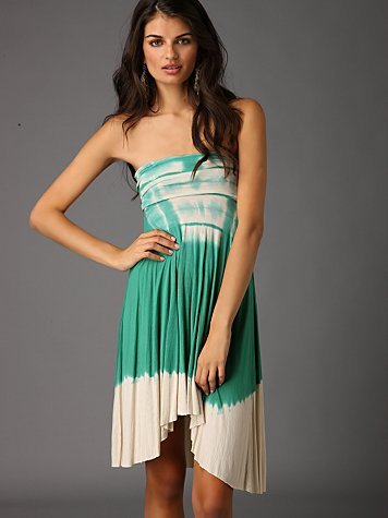 Free People Clothing Boutique > Across The Wire Convertible Dress :  summer dress